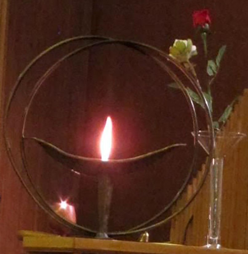 Our Symbol The Flaming Chalice: Unitarian Society Of Hartford